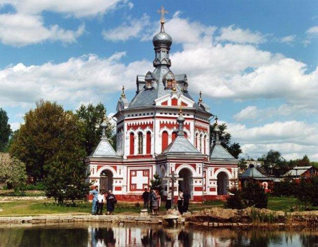 Гусь-Хрустальный: Часовня Варвары
