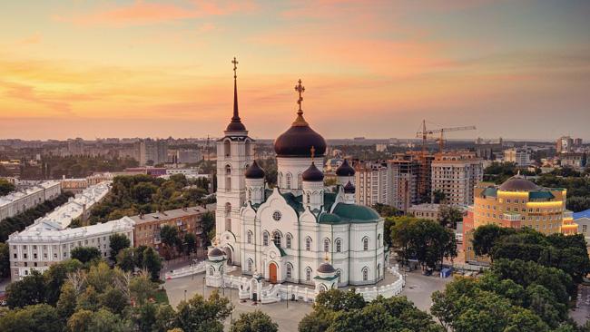 Вид на Благовещенский кафедральный собор