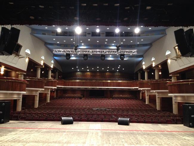 Зал Тюменской филармонии