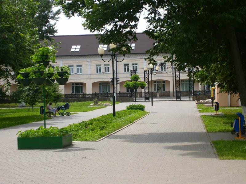 Городской кремлевский сад