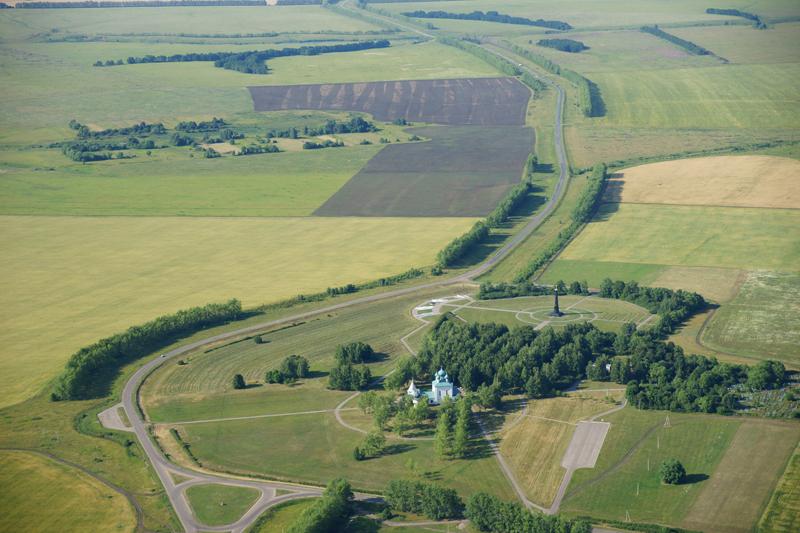 Куликово поле - вид - сверху