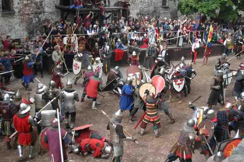 Рыцарские бои в Выборгском замке