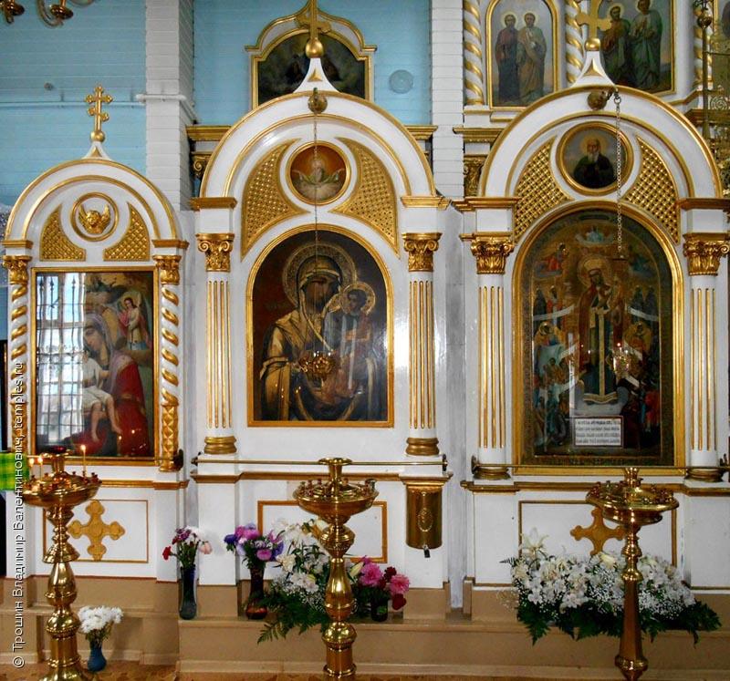 Церковь Николая Чудотворца изнутри
