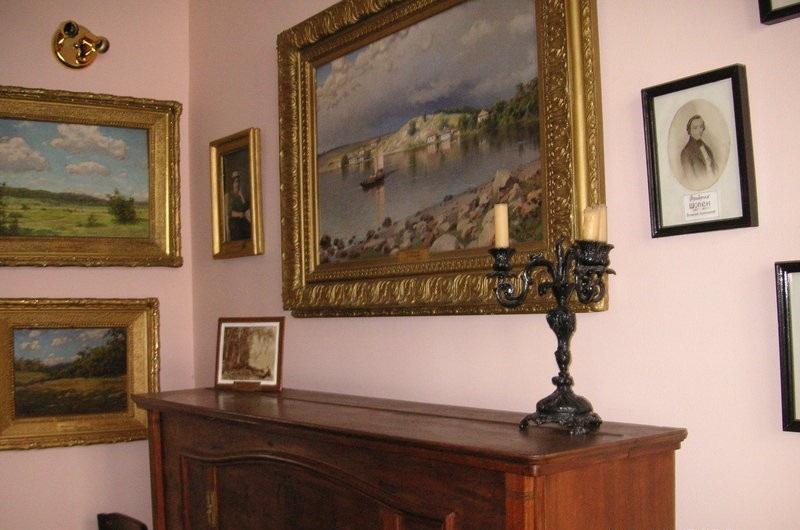 Дом-музей А.Киселева внутри