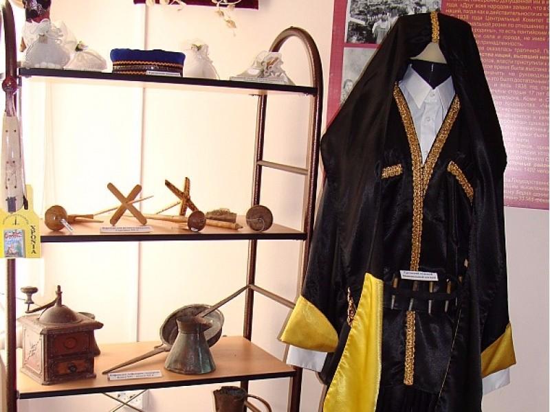 Геленджикский историко-краеведческий музей внутри