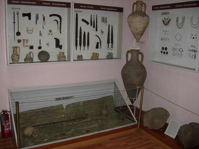 Краеведческий музей им. Полетаева внутри