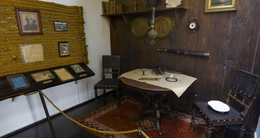 Музей Александра Грина внутри