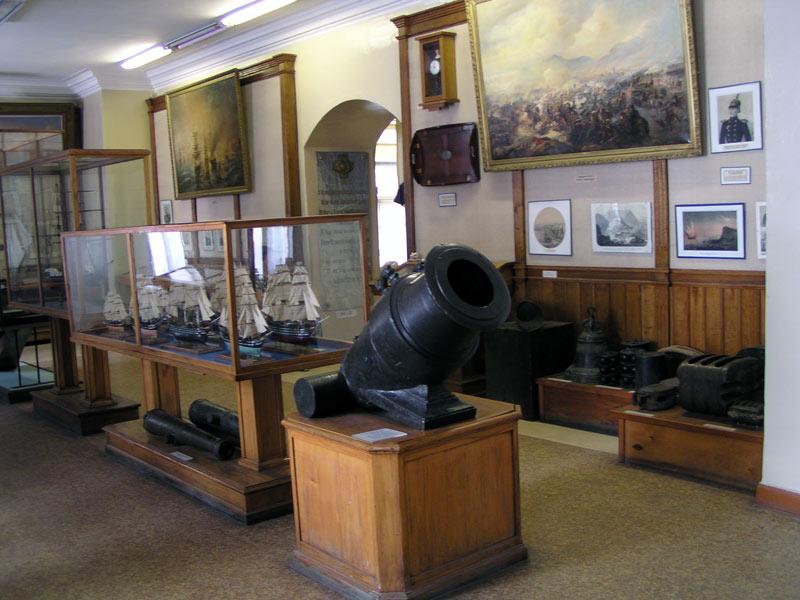 Музей Черноморского флота внутри