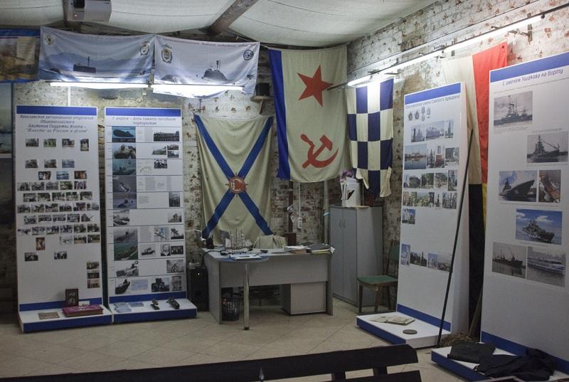 Музей Федора Ушакова внутри