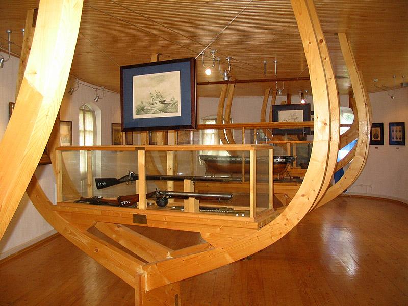 Музей адмирал Нахимова внутри