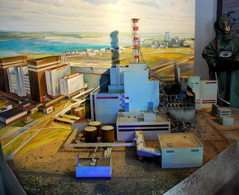 Музей героев Чернобыля внутри