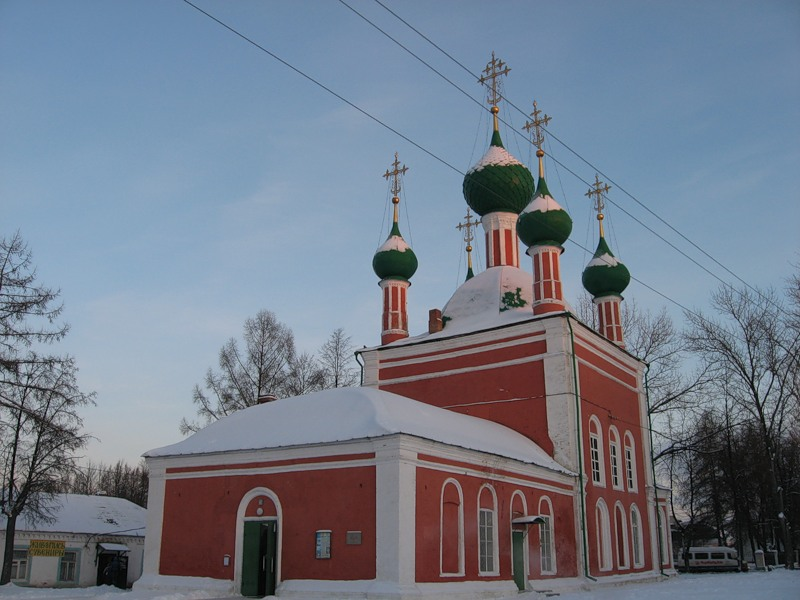Переславский кремль храм