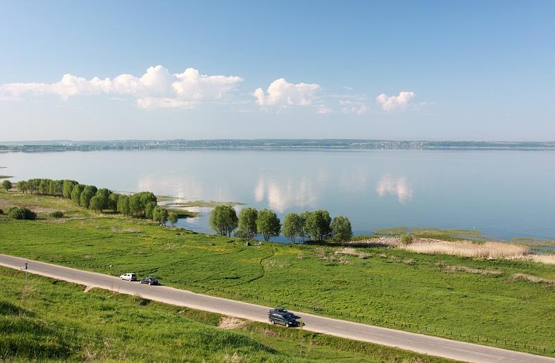 Плещеево озеро берег
