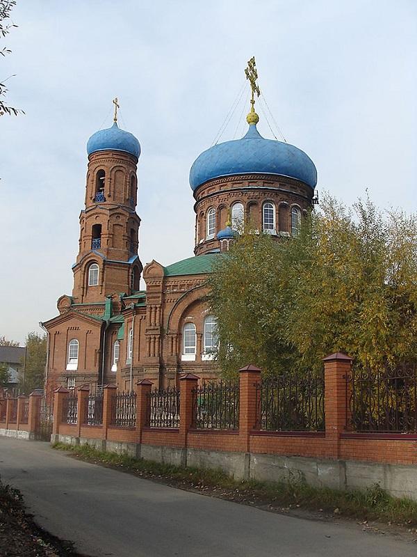 Покровский кафедральный собор в Барнауле