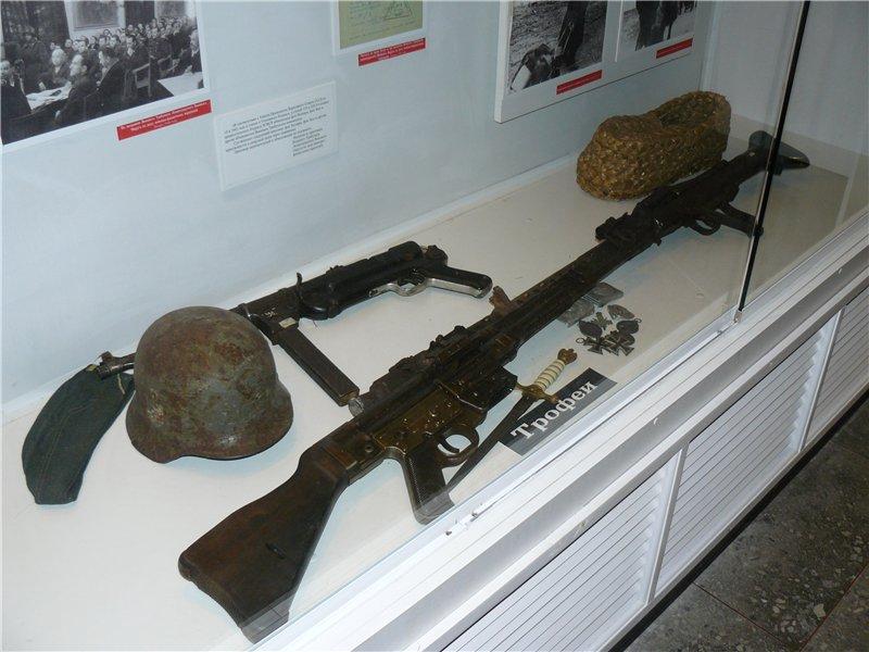 Великолукский краеведческий музей внутри