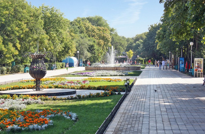 Парк имени Поддубного