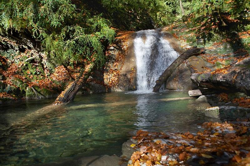 Агурские водопады вид