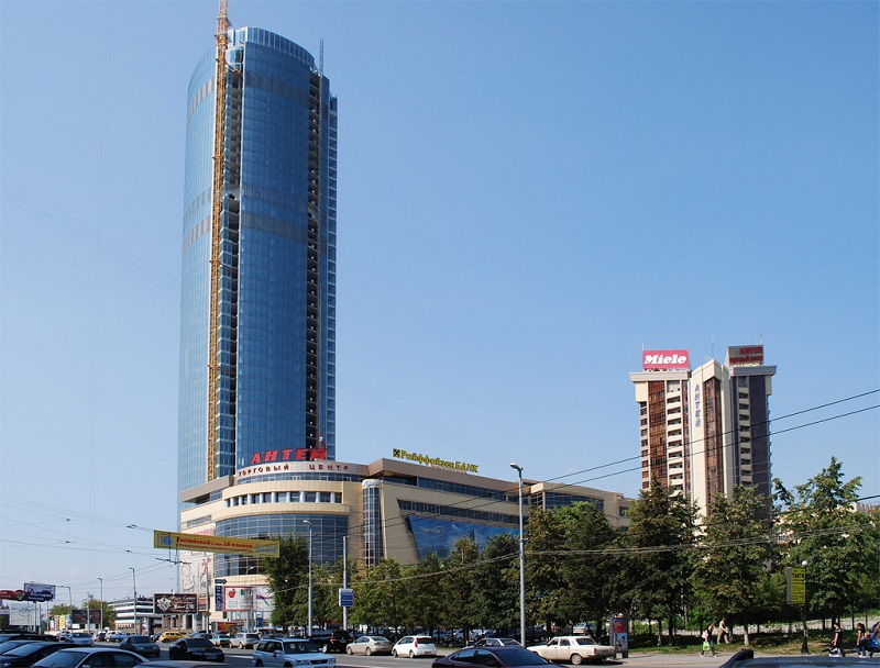 Бизнес-центра Антей