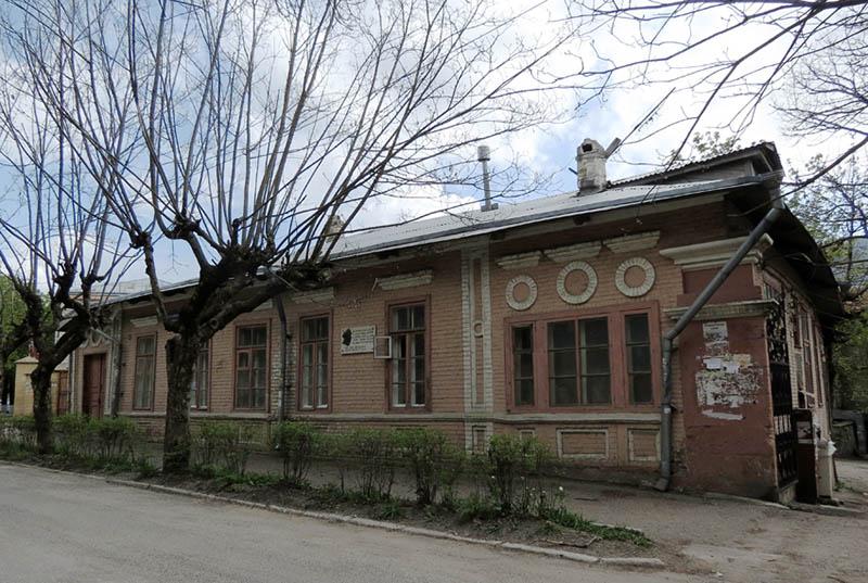 Дом, где снимал квартиру М.Лермонтов
