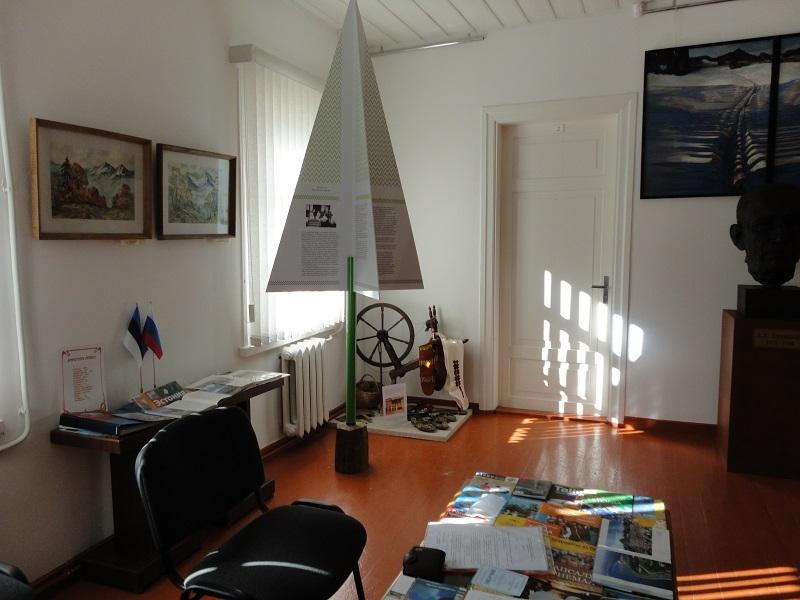 Дом-музей А.Таммсааре внутри