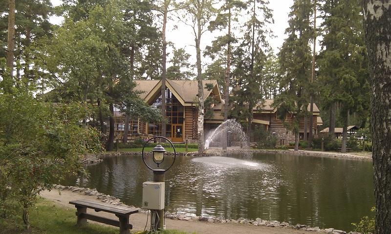 Комплекс Русская рыбалка пруд