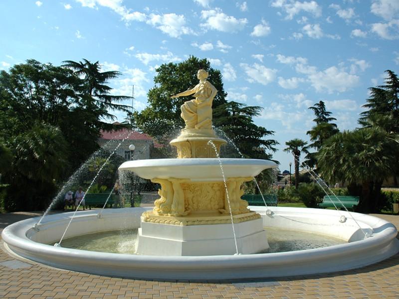 Морской вокзал фонтан