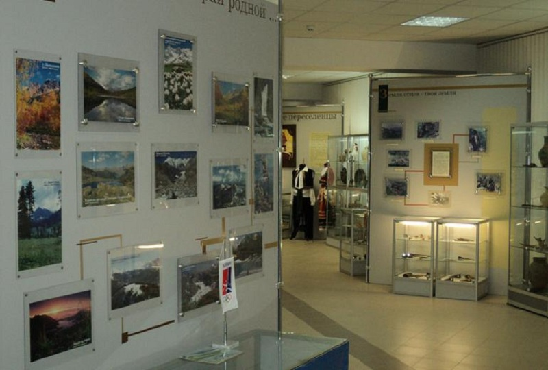 Музей истории Красной поляны внутри