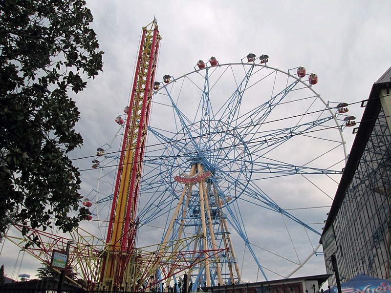 Парк культуры и отдыха колесо