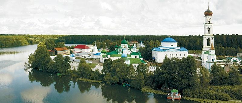 Раифский монастырь весь