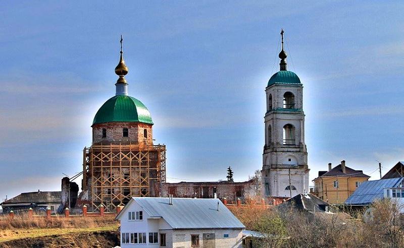 Село Карачарово храм
