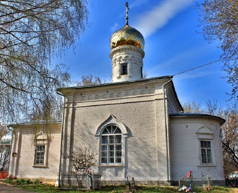 Село Карачарово церковь