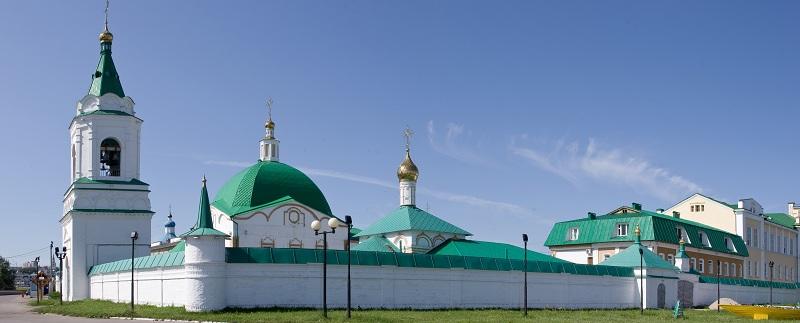 Свято-Троицкий монастырь вид
