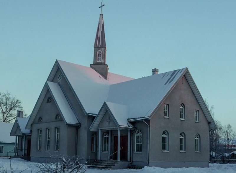 Церковь Святого Креста Церкви Ингрии