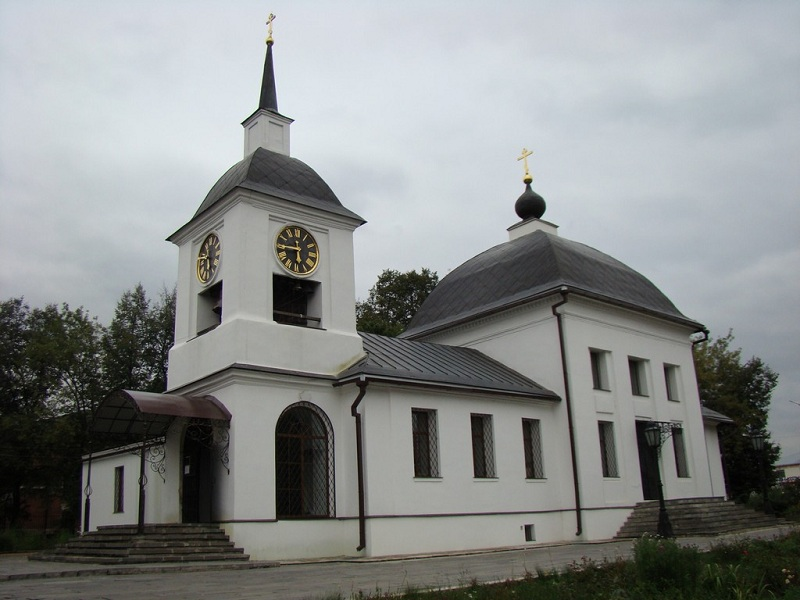 Усадьба Щапово церковь
