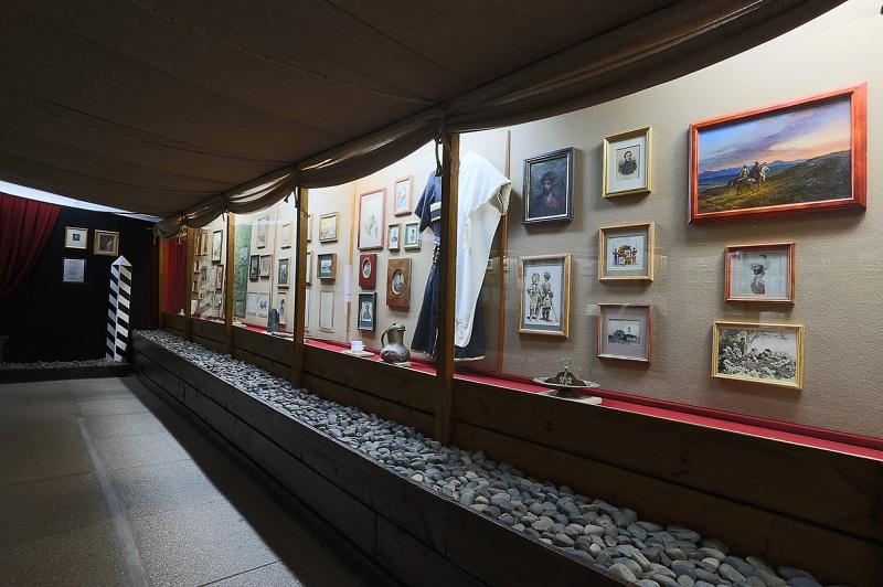 Дом-музей Лермонтова внутри