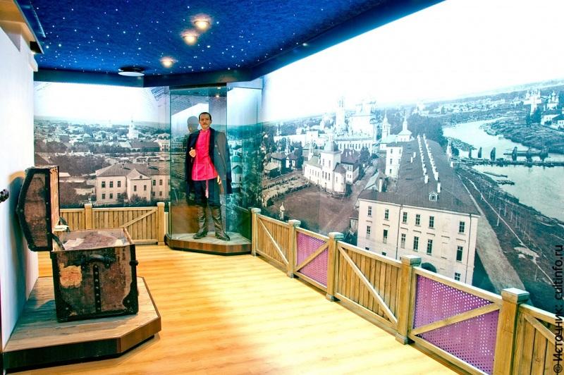Музей Вологодская ссылка внутри