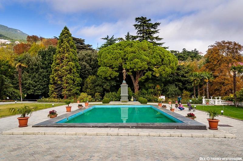 Никитский ботанический сад вид