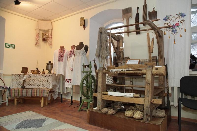 Районный краеведческий музей внутри