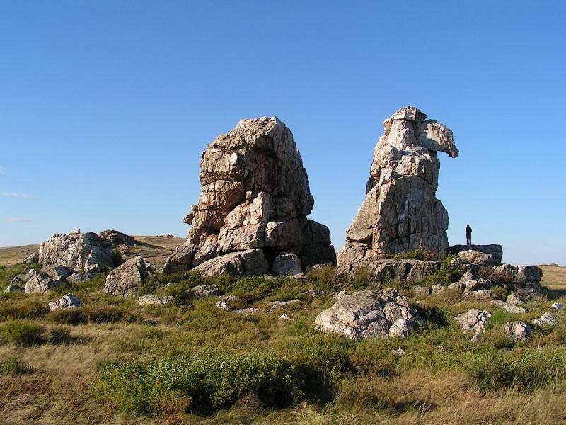 Скалы-останцы Верблюды
