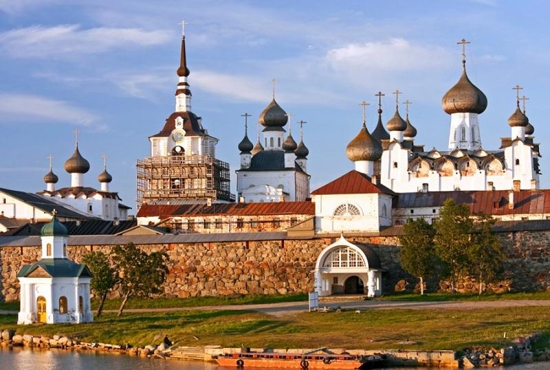Соловецкий Кремль вид