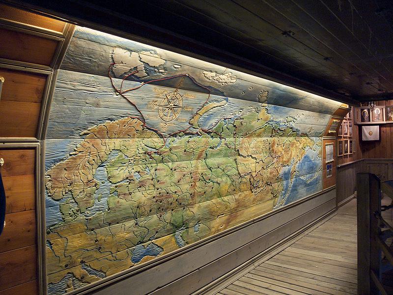 Соловецкий морской музей внутри