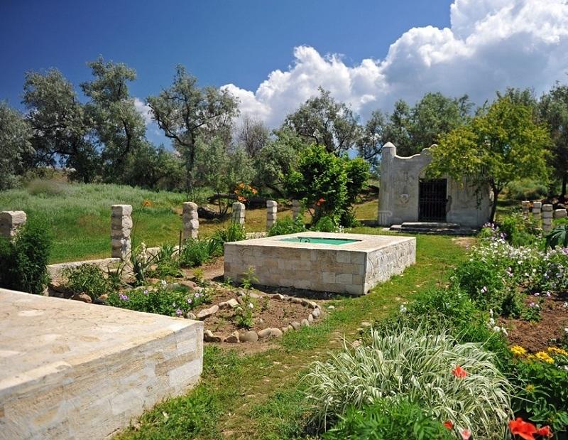 Турецкий фонтан вид