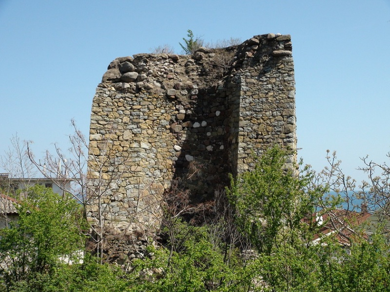 Крепость Алустон башня