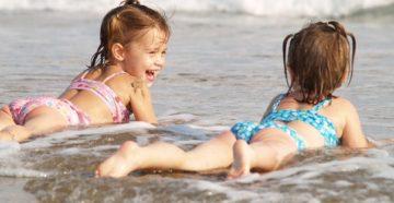 Дети на море Анапы