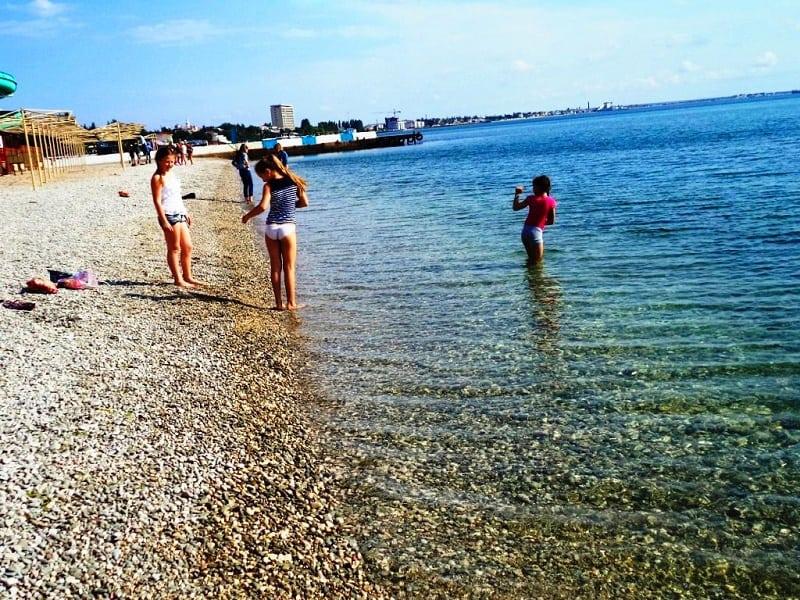 Как гулять с детьми в Феодосии