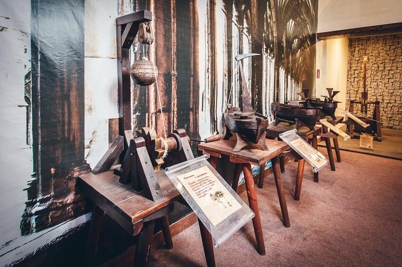 Механический Музей Леонардо да Винчи