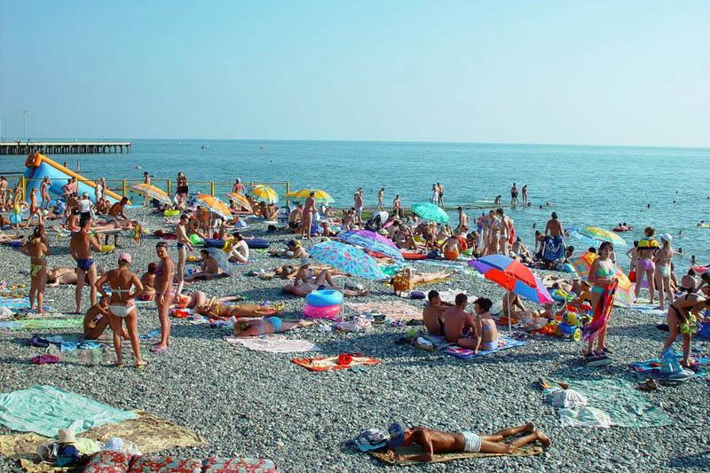 Адлер пляж