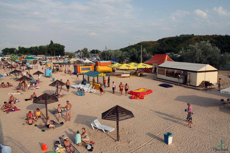 должанка пляж