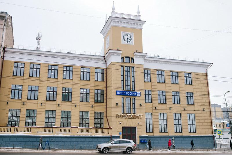 Здание Ивановского почтамта