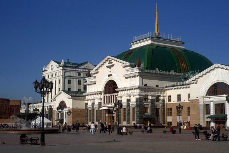 Площадь железнодорожного вокзала